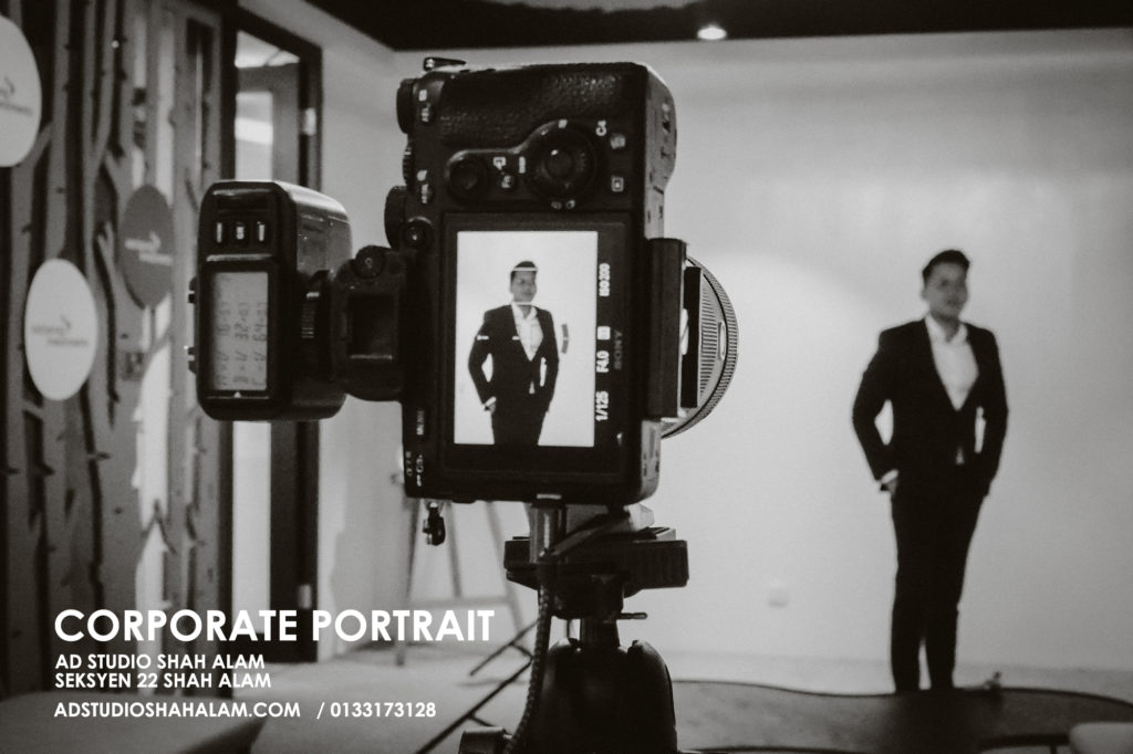 Exceptional Corporate Studio Portrait For Distinguished Professional 2