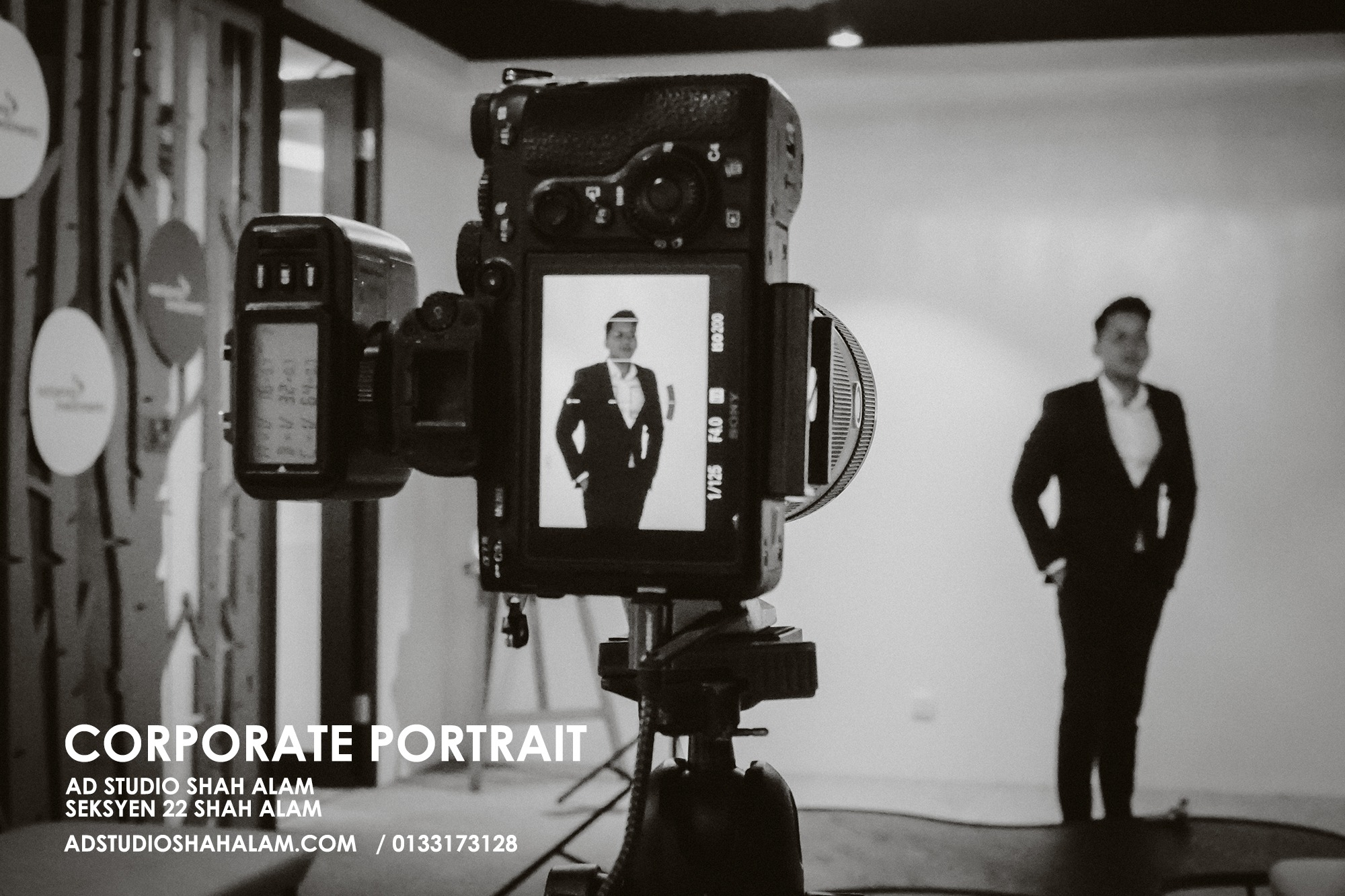 Exceptional Corporate Studio Portrait For Distinguished Professional 3